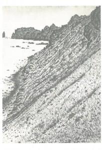 冬の積丹半島
