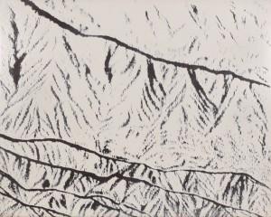 242雪山並み・飯豊  トリミング