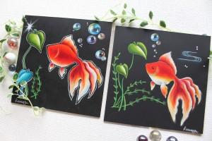 金魚モチーフ サンプル画像2