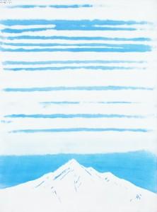 帯雲・利尻富士   リサイズ